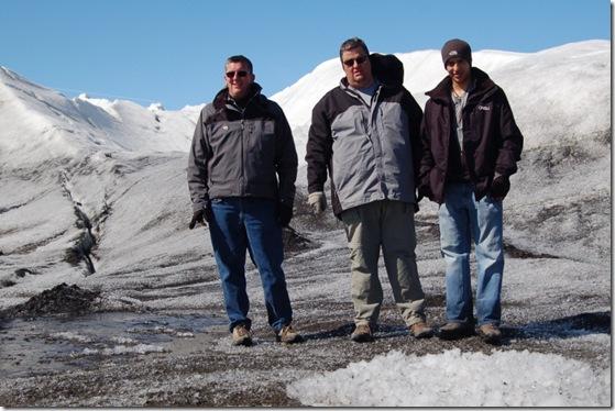group on glacier