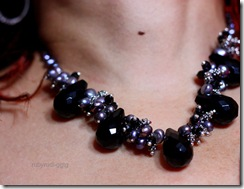 neck with jewels