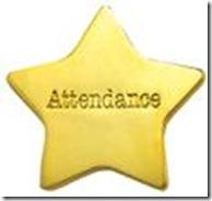attendance gold star