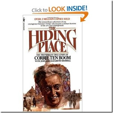 The Hiding Place Book Cover_
